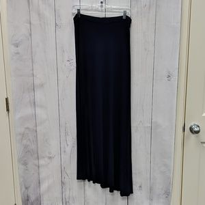 Design History Skirts - 🛍️Design History Navy Blue Maxi Skirt Extra Large